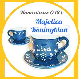 Keramik aus der Majolica